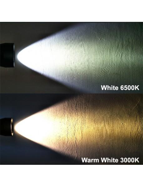DV80 Cree XHP70.2 4000 Lumens Stepless Adjusted Diving LED Flashlight ( 2x26650 )