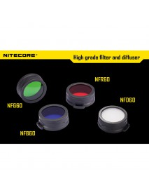 Nitecore 60mm Filter Red / Green / Blue / White (1 pc)