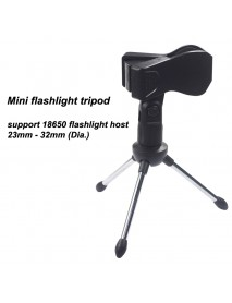 Flashlight Tripod for Flashlight Tube 23mm - 32mm (Dia.)