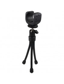 Mini Portable Swivel Adjustable Flashlight Tripod for Led Flashlight with 28mm - 36cm Diameter