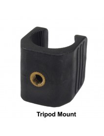 SN U-Shaped Tripod Mount for 18650 Flashlights - Black ( 1 pc )