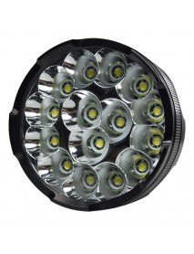 15 x Cree XM-L T6 5-Mode 18000 Lumens LED Flashlight - Black (4x26650/4x18650)
