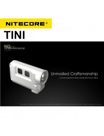 NiteCore TINI Cree XP-G2 S3 380 Lumens Mini Metallic Keychain Light