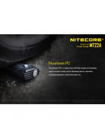 NiteCore MT22A CREE XP-G2 S3 LED 260 Lumens Compact and Portable Flashlight