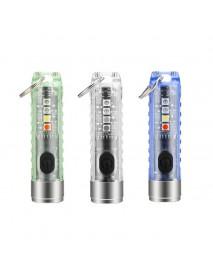 S11 SST-20 400 Lumens Mult-Function Type-C Rechargeable EDC Flashlight (1 PC)