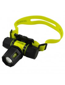 BORUIT RJ-2122 Cree XM-L T6 2-Mode Zoom Diving Headlamp (1 x 18650 / 3 x AAA)