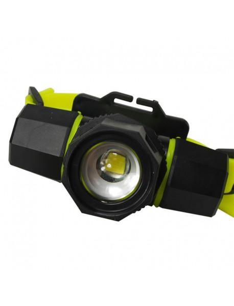 BORUIT RJ-2122 Cree XM-L T6 2-Mode Zoom Diving Headlamp (1 x 18650 / 3 x AAA)