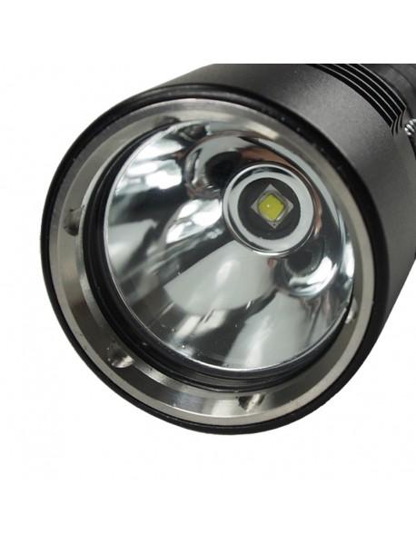 Cree XM-L2 U2 LED Stepless Dimming 1200 Lumens Diving Flashlight (2 x18650)