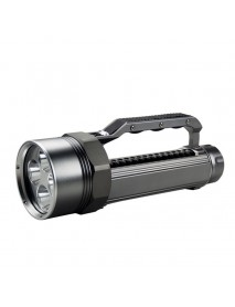 LusteFire DV400 4 x Cree XM-L2 U2 LED Stepless Dimming 5000 Lumens Diving Flashlight (2 x   26650)