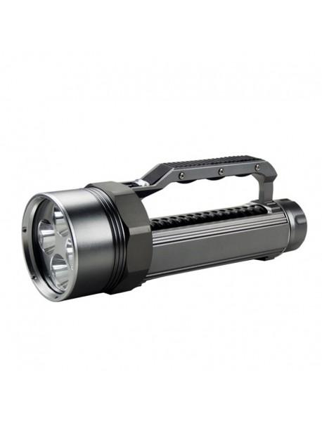 LusteFire DV400 4 x Cree XM-L2 U2 LED Stepless Dimming 5000 Lumens Diving Flashlight (2 x   26650)