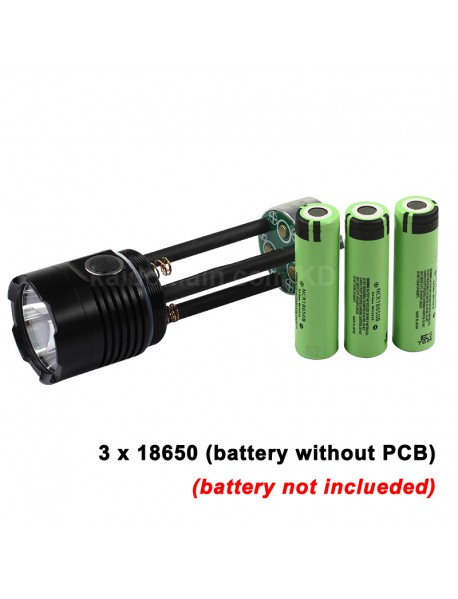 JKK03 Cree XHP70.2 LED 3600 Lumens 6-Mode USB Rechargeable LED Flashlight ( 3x18650 )