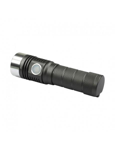 Newest JKK21700 Luminus SST-20 1300 Lumens 6-mode Type-C Rechargeable LED Flashlight ( 1X21700 )