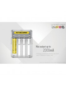 NiteCore Q4 Charger with 4 Slots for Charging Li-ion / IMR Batteries