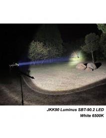 JKK90 Luminus SBT-90.2 LED 7000 Lumens White 6500K 2-Groups Mode LED Flashlight ( 2x26650 )