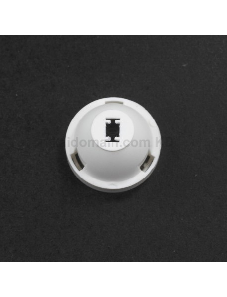 23.5mm (D) x 16mmm (H) 30 / 45 / 60-Degree PMMA Optical Lens for CREE XP (2 pcs)