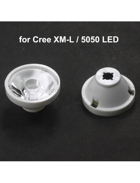 32.5mm (D) x 18mmm (H) 5-Degree PMMA Optical Lens for Cree XM-L (1 pc)