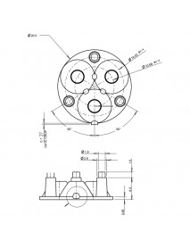 Carclo 10507 Triple Optical Lens (1 PC)