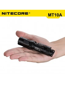 NiteCore MT10A Cree XM-L2 U2 920 Lumens White Light OP LED Flashlight (1 x 14500   / 1 x AA)
