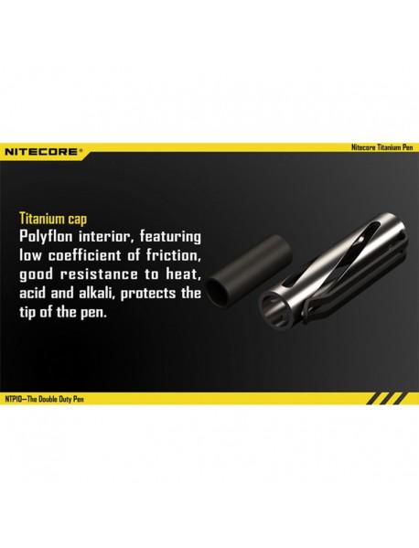 NiteCore NTP10 Titanium Pen