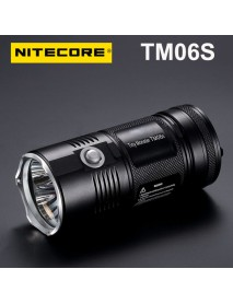 Nitecore TM06S Cree XM - L2 U3 4000 Lumens White Light SMO LED Flashlight (4 x 18650)