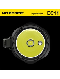 NiteCore EC11 Cree XM-L2 U2 900 Lumens White Light SMO LED Flashlight (1 x CR123 / 1 x RCR123)