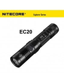 NiteCore EC20 Cree XM-L2 T6 960 Lumens White Light SMO LED Flashlight (1 x 18650 / 2 x CR123)