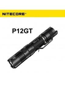 NiteCore P12GT Cree XP-L HI V3 1000 Lumens White Light SMO LED Flashlight (1 x 18650 / 2 x CR123)