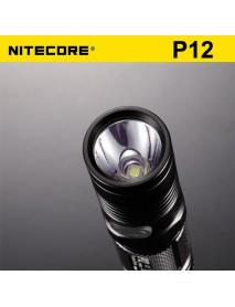 NiteCore P12 Cree XM-L2 U2 1000 Lumens Neutral White SMO LED Flashlight (1 x 18650 / 2 x CR123)