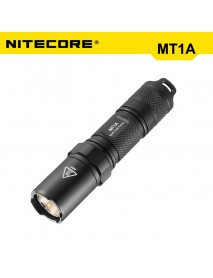 NiteCore MT1A Cree XP-G2 R5 180 Lumens White Light SMO LED Flashlight (1 x AA)
