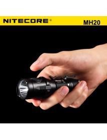 NiteCore MH20 Cree XM-L2 U2 1000 Lumens Neutral White SMO LED Flashlight (1 x 18650 / 2 x CR123)