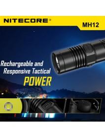 NiteCore MH12 Cree XM-L2 U2 1000 Lumens Neutral White SMO LED Flashlight (2 x 18650 / 4 x CR123)