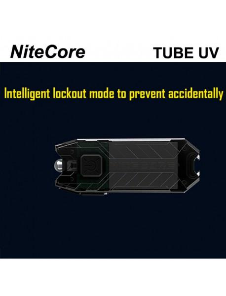 NiteCore TUBE UV USB Rechargeable LED Keychain
