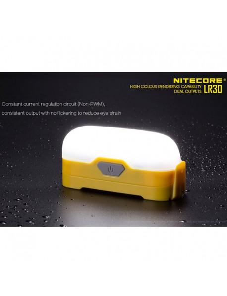 NiteCore LR30 HIGH CRI LED 4-Mode 205 Lumens Lantern (1 x 18650 / 2 x CR123)