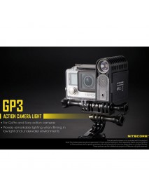 Nitecore GP3 CREE XP-G2 LED 360 Lumens 5-Mode Action Camera Light (1 x NLGP3)