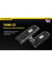 Nitecore Thumb LEO 45 Lumens USB Rechargeable LED Keychain