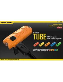 Nitecore TUBE USB Rechargeable LED Keychain