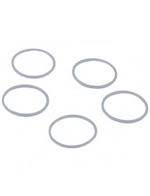 18mm x 16mm x 1mm Water-tight O-Ring Seals - Blue (5 pcs)
