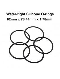 82mm x 78.44mm x 1.78mm Water-tight O-Ring Seals (5 PCS)