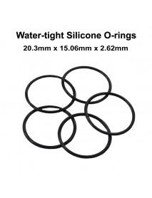 20.3mm x 15.06mm x 2.62mm Water-tight O-Ring Seals (5 pcs)