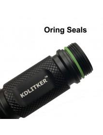 Water-tight O-Ring Seals - GITD Green (5 PCS)