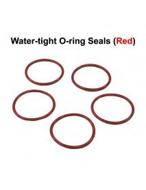 Water-tight O-Ring Seals - Red (5 PCS)