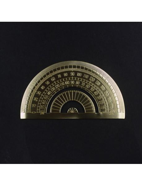 12cm (L) Brass Protractor (1 pc)