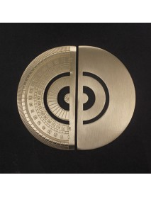 12cm (L) Brass Protractor (1 pc)
