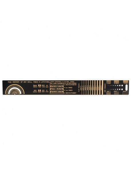 25cm(L) Electronic PCB Style Ruler for Electronic Engineers (1 pc)