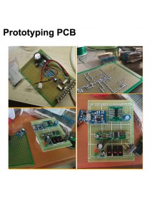 Double Sided Prototyping PCB for DIY and Electronic Project (2 pcs)