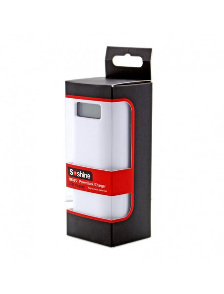 Soshine E4S 2 x 18650 Portable Power Bank