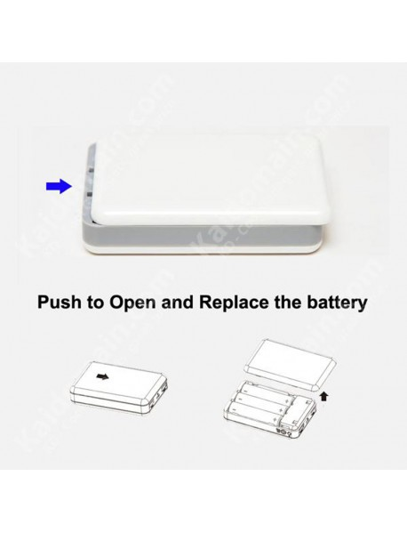 LiT RX-03 Power Bank with 3 x 18650 Slot - White ( 1 pc )