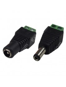 5.5mm x 2.1mm DC Pow Connector - Black