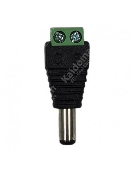 5.5mm x 2.1mm DC Pow Connector - Black