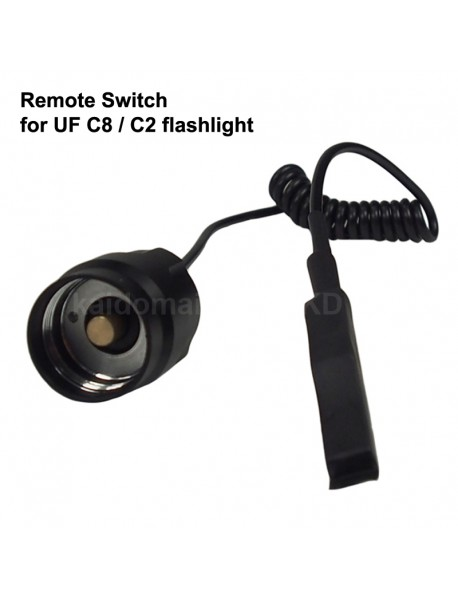 Remote Pressure Switch for UF C8 / C2 LED Flashlight (1 pc)